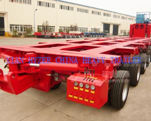 Hydraulic Multi Axle Trailer