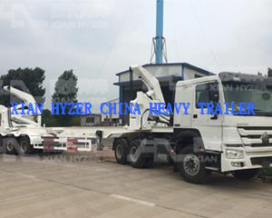 37 ton Loading Capacity Container Side Loader