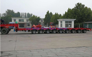 Hydraulic And Mechanism Suspension Trailer
