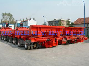 Heavy Hauler Hydraulic Multi Axle Trailer